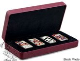 Canada: 2008 2009 $15 Playing Card Money Set of 4 Sterling Silver Coins