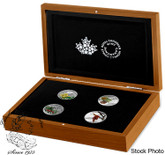 Canada: 2015 $20 Forests of Canada 4 Silver Coin Set