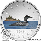 Canada: 2016 $1 Big Coin Series Coloured Dollar Coin