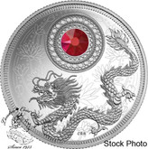 Canada: 2016 $5 Birthstones January Silver Coin