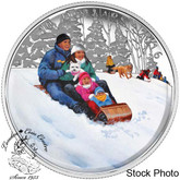 Canada: 2016 $10 Winter Fun Silver Coin