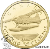 Canada: 2008 50 Cent De Havilland Beaver Gold Coin