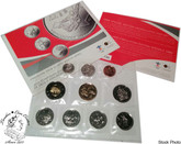 Canada: 2008 Vancouver Olympic Winter Games 2010 Uncirculated Coin Set