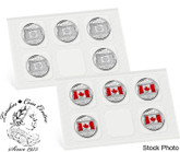 Canada: 2015 25 Cent Canadian Flag 10 Coin Pack