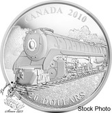 Canada: 2010 $20 The Selkirk Locomotive Silver Coin