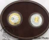 Canada: 2001 $5 Marconi 1st Wireless Trans-Atlantic Transmission 2 Silver Coin Set
