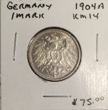 Germany: 1904 1 Mark