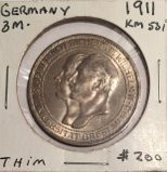 Germany: 1911 3 Mark
