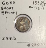 Great Britain: 1838/8 4 Pence