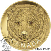 Canada: 2016 $2500 In the Eyes of the Spirit Bear Kilo Gold Coin