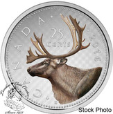 Canada: 2016 25 Cent Big Coin Series Coloured 25 Cent Silver Coin