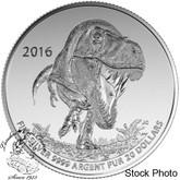Canada: 2016 $20 Tyrannosaurus Rex Silver Coin
