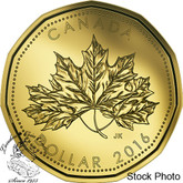 Canada: 2016 $1 Maple Leaf Loonie