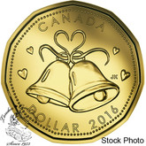 Canada: 2016 $1 Wedding Bells Loonie