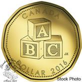 Canada: 2016 $1 Blocks Baby Loonie
