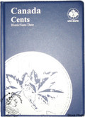 Canada: Blank No Date Small Cents Uni-Safe Coin Folder