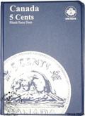 Canada: Blank No Date 5 Cents Uni-Safe Coin Folder