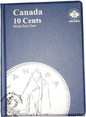 Canada: Blank No Date 10 Cents Uni-Safe Coin Folder