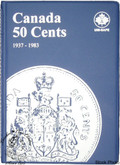 Canada: 1937 - 1983 50 Cents Uni-Safe Coin Folder