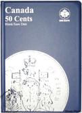 Canada: Blank No Date 50 Cents Uni-Safe Coin Folder