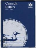 Canada: 1987 - Date $1 Dollars Uni-Safe Coin Folder