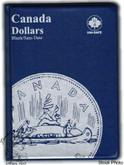 Canada: Blank No Date $1 Dollars Uni-Safe Coin Folder