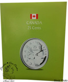 Canada: Kaskade 25 Cent Coin Folder