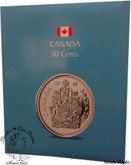 Canada: Kaskade 50 Cents Coin Folder