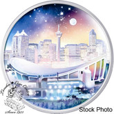 Canada: 2006 $20 Pengrowth Saddledome Hologram Silver Coin
