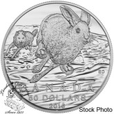 Canada: 2016 $50 Hare Silver Coin