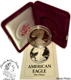 United States: 1990-S 1 Ounce Proof Silver American Eagle