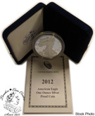 United States: 2012-W 1 Ounce Proof Silver American Eagle