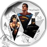Canada: 2016 $20 Batman v Superman: Dawn of Justice™ - The Trinity - Fine Silver Coin
