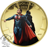 Canada: 2016 $100 Batman v Superman: Dawn of Justice™ - 14k Gold Coin