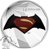 Canada: 2016 $10 Batman v Superman: Dawn of Justice™ - Logo - Fine Silver Coin