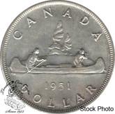 Canada: 1951 $1 EF40