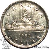 Canada: 1952 $1 WL MS60