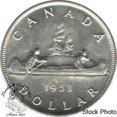 Canada: 1953 $1 SF SWL AU50