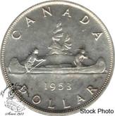 Canada: 1953 SF SWL Silver Dollar MS63