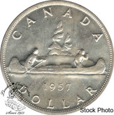 Canada: 1957 $1 MS62