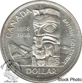 Canada: 1958 $1 MS63