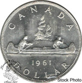 Canada: 1961 $1 MS63