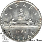 Canada: 1963 $1 MS62