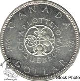 Canada: 1964 $1 no dot TS MS62