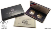 United States: 1991 Mount Rushmore Anniversary 2 Coin Proof Set