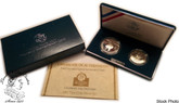 United States: 1992 Columbus Quincentenary 2 Proof Coin Set