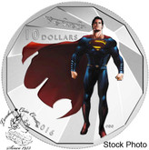 Canada: 2016 $10 Batman vs Superman: Dawn of Justice - Superman Silver Coin
