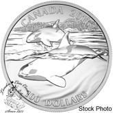 Canada: 2016 $100 for $100 Orca Whale Silver Coin