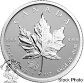 Canada: 2016 $5 Silver Maple Leaf with Grizzly Privy Coin