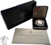 United States: 1992 $1 The White House 200th Anniversary Proof Silver Dollar